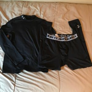 Under Armour Compression Shirt and Pants